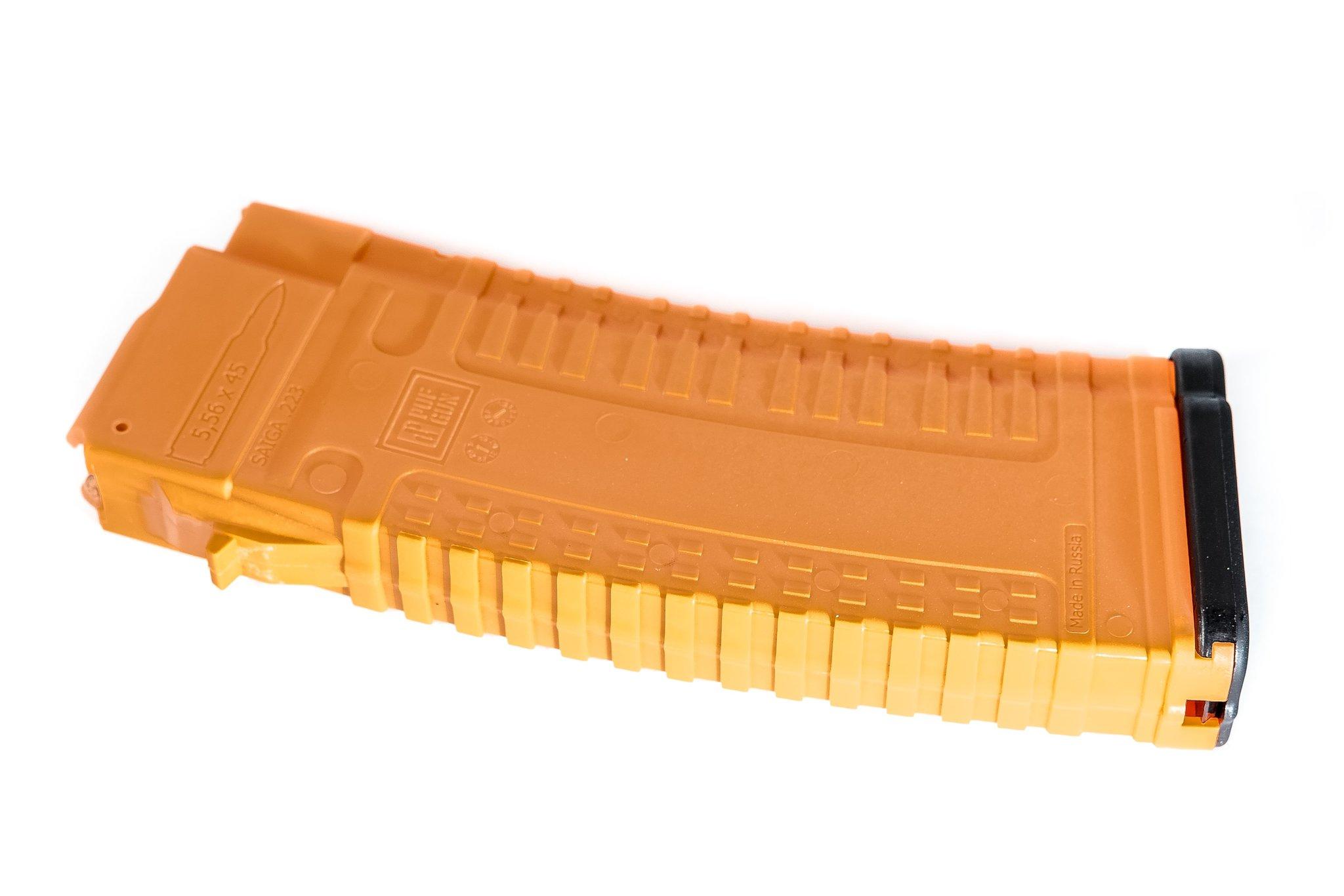 Магазин PUFGUN Сайга-223 на 30 патронов, оранжевый
