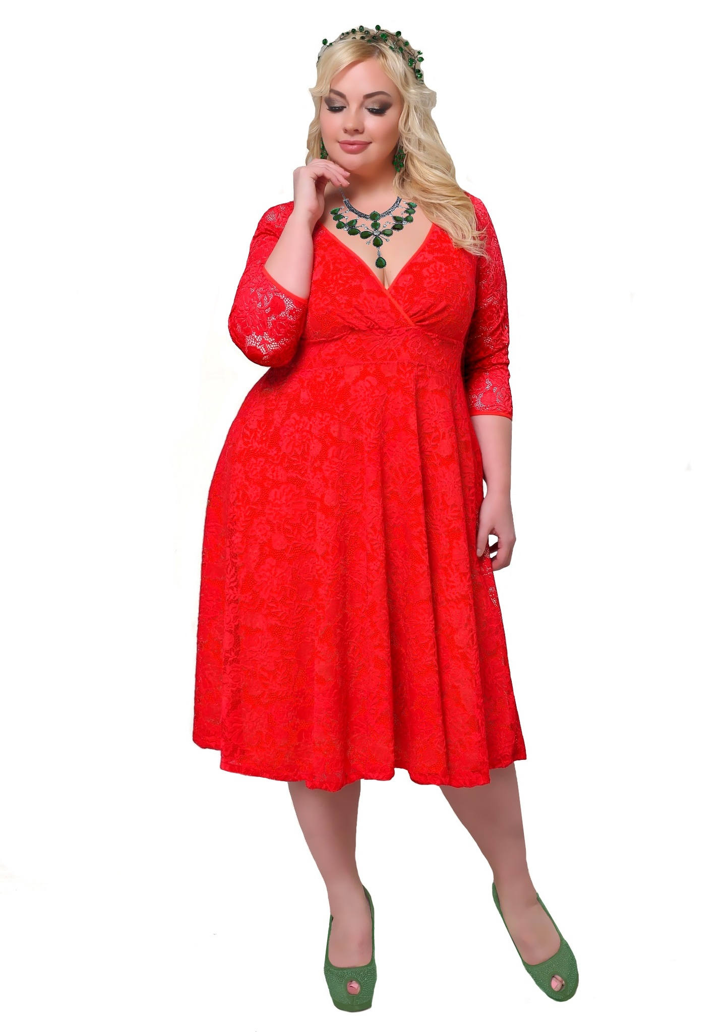 Платье 17-012