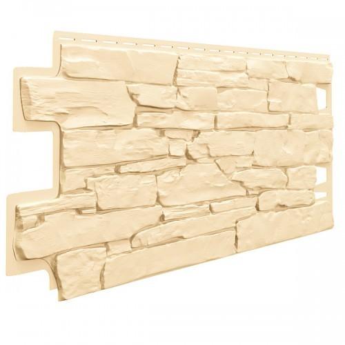 Фасадные панели (Цокольный Сайдинг) VOX Vilo Solid Stone Кремовый