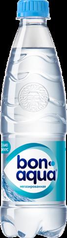 Вода Bonaqua чистая негазированная питьевая 0,5л
