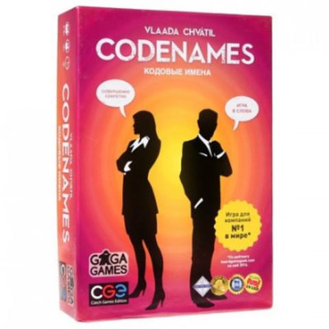 Настольная игра Кодовые имена (Codenames) УТ-00103334