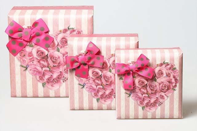 Набор коробок 3в1 цветущие чувства 603232