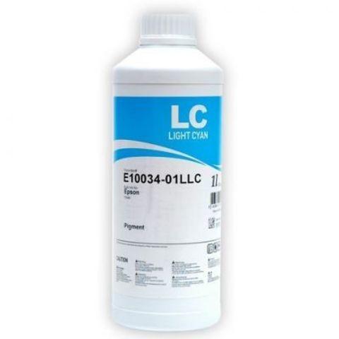 Чернила InkTec E10034 /LC light cyan (светло голубой) Pigment UltraChrome 1л.