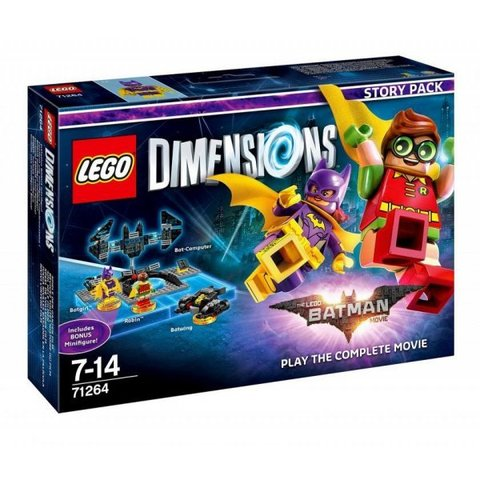 LEGO Dimensions: Лего Фильм: Бэтмен (Story Pack) 71264 — The LEGO Batman Movie: Play the Complete Movie (Story Pack) — Лего Измерения