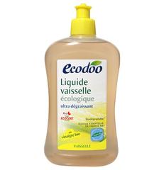 Средство для мытья посуды с уксусом и мятой, Ecodoo