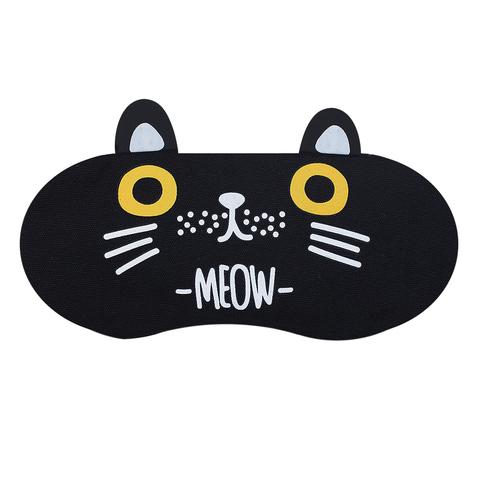 Маска для сна Cat Black