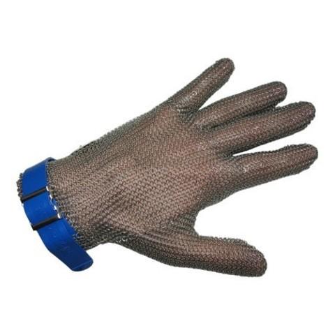 Перчатка кольчужная 5 пал ( XXS коричневая) | Soliy.com.ua