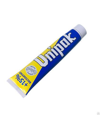 Средняя упаковка пасты Unipak 75 гр.