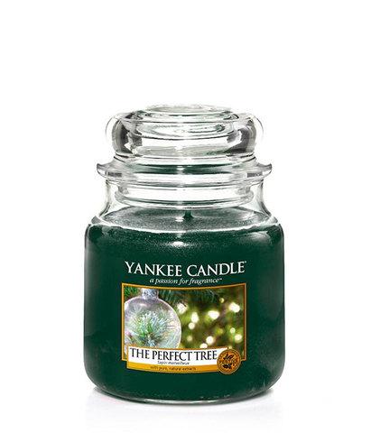 Ароматическая свеча Идеальная ель, Yankee Candle