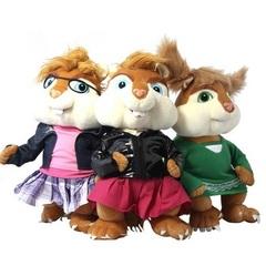 Элвин и бурундуки набор мягких игрушек Бурундучихи