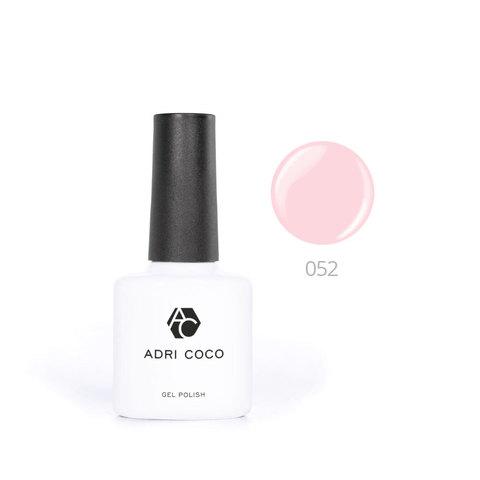 Цветной гель-лак ADRICOCO №052 жемчужно-розовый (8 мл.)
