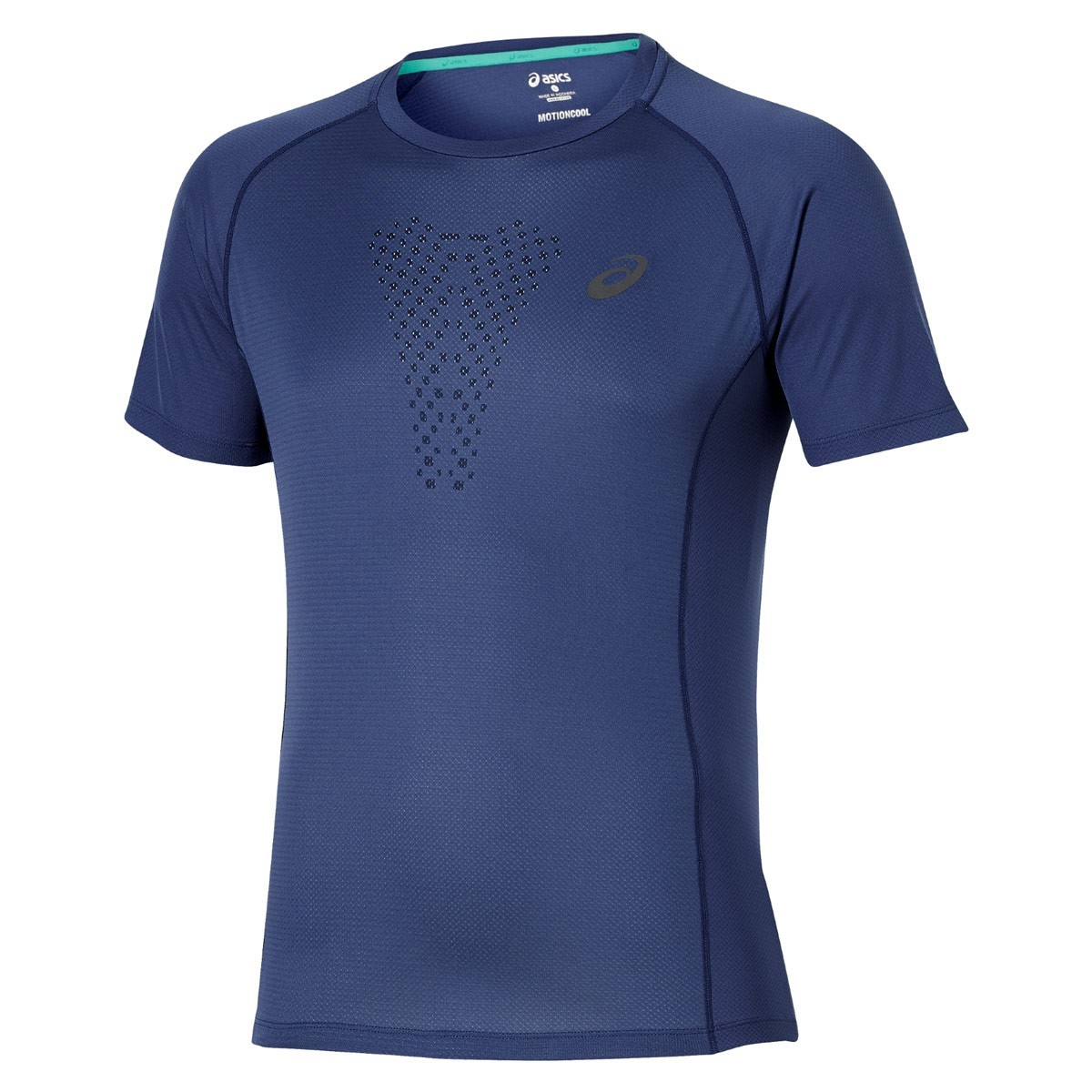 Мужская футболка для бега Asics FujiTrail Ultra Top (130006 8133) синяя фото