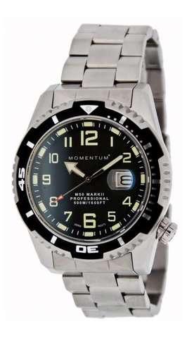 Купить Дайверские часы Momentum M50 Mark II (стальной браслет) по доступной цене
