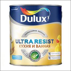 Краска для стен и потолка Dulux Ultra Resist BW (Белая)