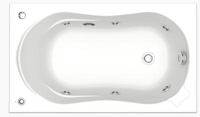 Акриловая ванна BAS Кэмерон 120х70 комплектация стандарт
