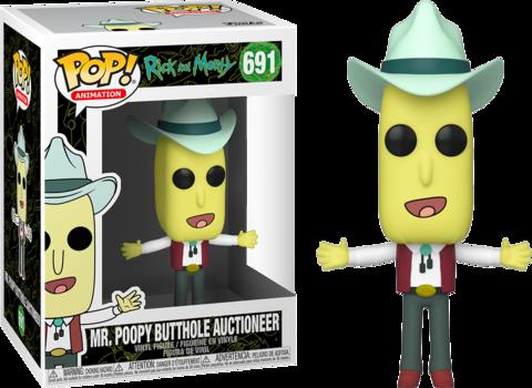 Фигурка Funko Pop! Animation: Rick and Morty - Mr. Poopy Butthole Auctioneer