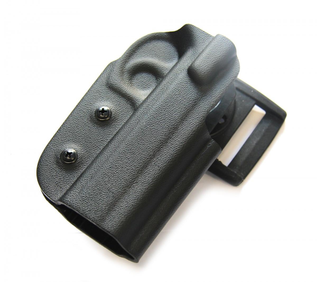Кобура пластиковая для CZ-75 SP-01 Shadow с поясным креплением Стич Профи