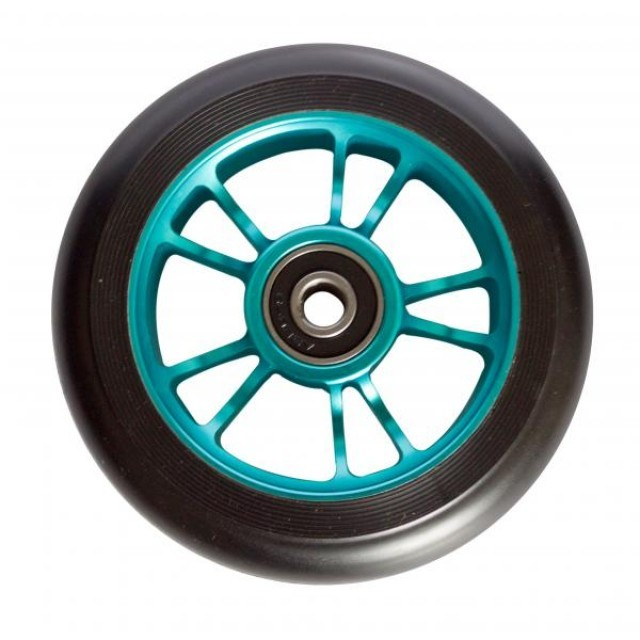 Blunt 7 Spoke 110mm Wheel BlackBlack Available via Next Day Delivery at UKSKATE Sale Scooter Wheels Stunt Scooters products are on Sale up to 40 off