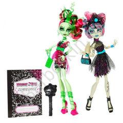 Набор из 2-х кукол Венера и Рошель Зомби Шейк Монстер Хай (Monster High Zombie Shake Venus and Rochelle)