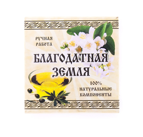 Мыло натуральное оливковое Жасмин, 75 г