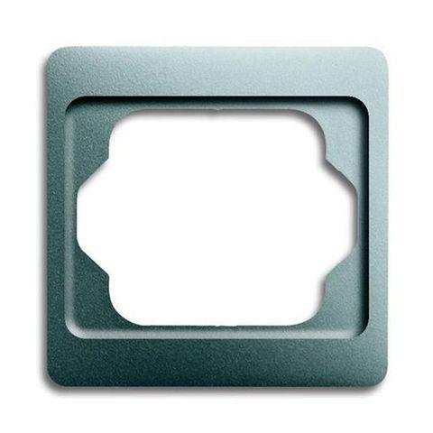 Рамка на 1 пост. Цвет Титан. ABB(АББ). Alpha Exclusive(Альфа Эксклюзив). 1754-0-4509