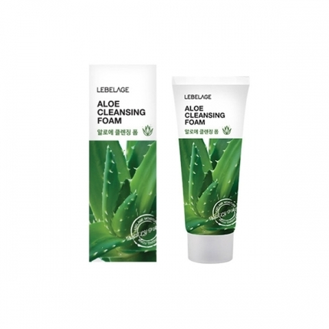 Очищающая пенка LEBELAGE Aloe Cleansing Foam 100ml