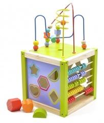 Игрушки из дерева Универсальный куб (Д260)