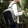 Рюкзак Kalidi USB светло-серый