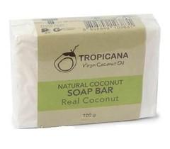 Мыло натуральное кокосовое TROPICANA