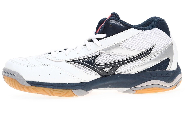 Мужские кроссовки для волейбола Mizuno Wave Rally 5 (V1GA1440 15) белые