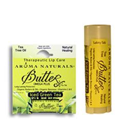 Помада- Бальзам для губ «Зеленый чай» - натуральное исцеление Iced Green Tea - Therapeutic Lip Care