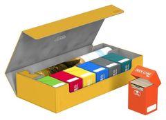 Ultimate Guard - Кожаная янтарная коробочка на 550+ карт