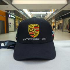 Кепка Порше черная (Бейсболка Porsche)