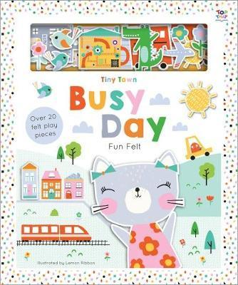 Kitab Tiny Town Busy Day   Joshua George