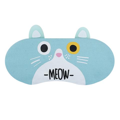 Маска для сна Cat Blue