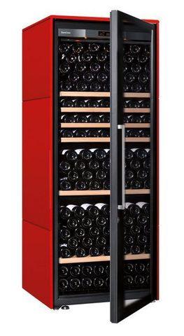 Винный шкаф EuroCave V Collection L красный, стандартная комплектация