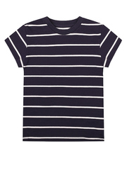 BTS012513 фуфайка детская, темно-сине/белая