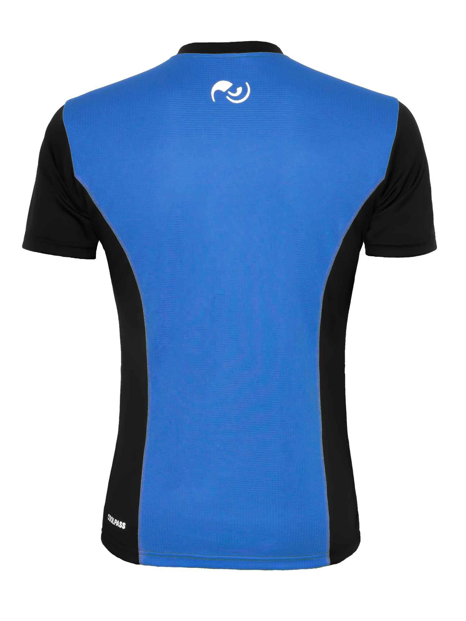 Мужская футболка для бега NordSki Premium (нордски) синяя фото