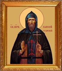 Елисей Сумский, Соловецкий, преподобный. Икона на холсте.