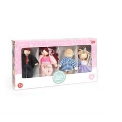 Набор кукол Кукольная семья, LeToyVan
