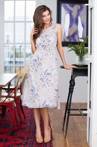 Платье домашнее из вискозы mia-mia