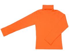 007-38 водолазка детская, оранжевый