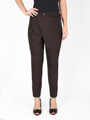 4085-3 брюки женские, темно-коричневые
