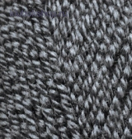 Alize Lanagold Черно серый 600 (5 шт.)