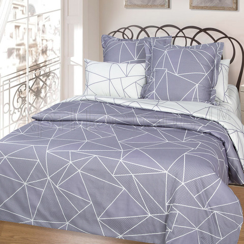 Комплект постельного белья 2 спальный Сатин Вентура