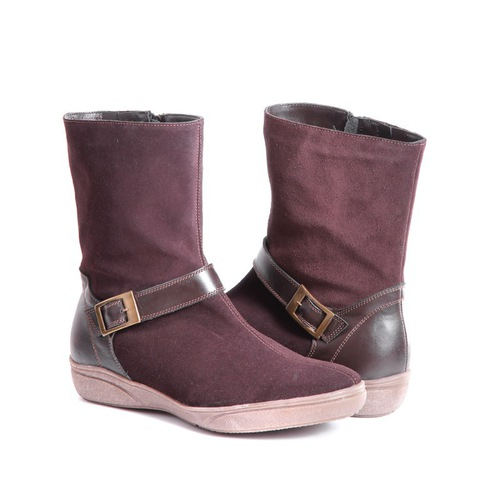 426459 ботильоны женские коричневые. КупиРазмер — обувь больших размеров марки Делфино