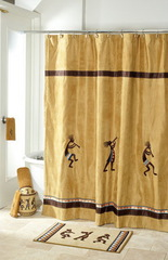 Элитная шторка для ванной Avanti Kokopelli