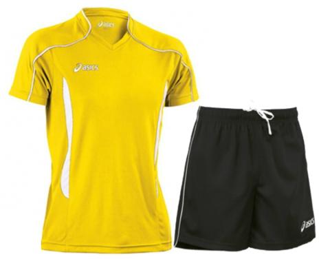 Волейбольная форма Asics Volo Zone мужская желтая