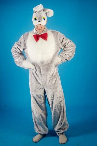 Карнавальный костюм Заяц серый 1