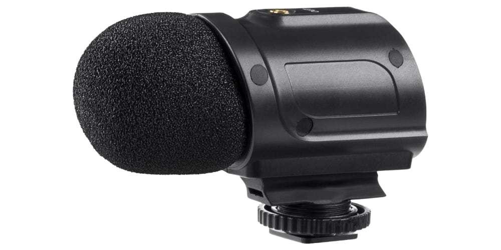Стерео микрофон-пушка Saramonic SR-PMIC2 вид сбоку